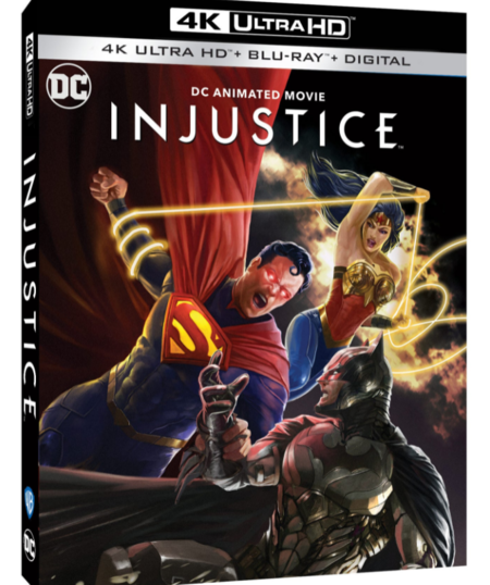 Injustice Bluray
