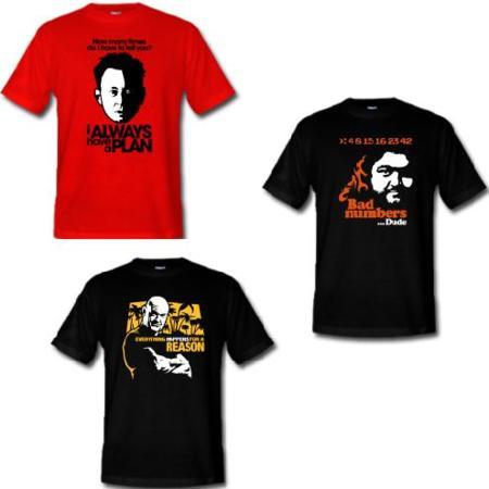 Nuevas camisetas de Perdidos