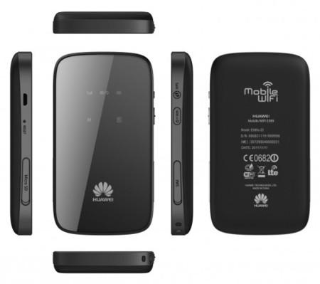 Huawei E589, un punto de acceso WiFi avanzado en cualquier lado