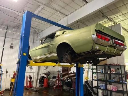 Encuentran Un Ford Mustang Shelby Gt500 1967 Abandonado 2