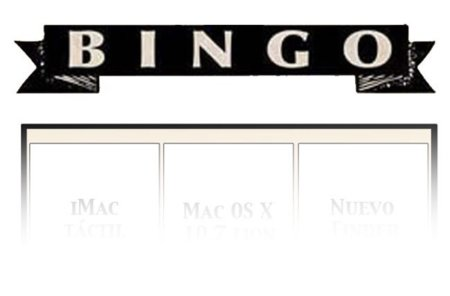 "Bingo para la Keynote ""Back to the Mac"", ¿lo dudabas?"
