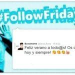 #FollowFriday de Poprosa: Capri Fábregas y más celebrities de vacaciones