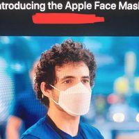 Apple tiene sus propias mascarillas, y una de ellas es transparente