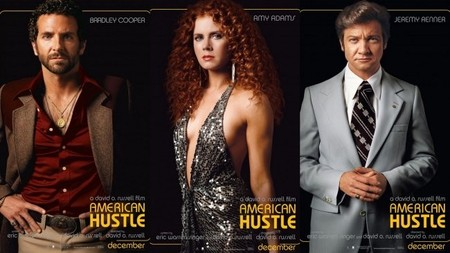 Bradley Cooper, Amy Adams y Jeremy Renner