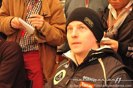 """Kimi Raikkonen: """"Lo que quiero es competir, no probar"""""""