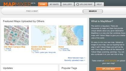 Yahoo MapMixer