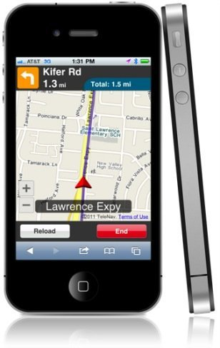 TeleNav HTML5 GPS