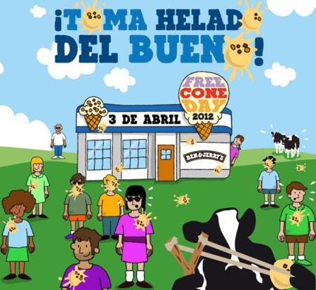 Hoy es el Día del Helado Gratis en Ben & Jerry's