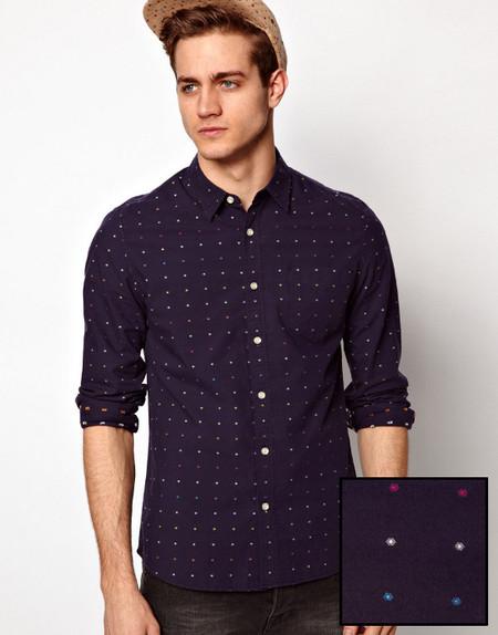 Camisa topos de colores