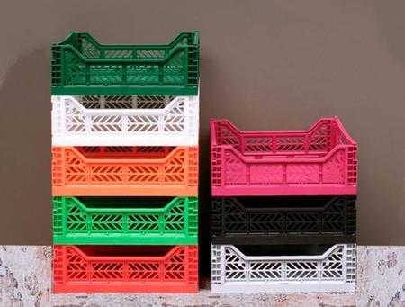 Cajas de fruta de plastico