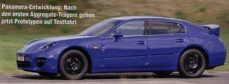 Primera foto espía (otra vez) del Porsche Panamera