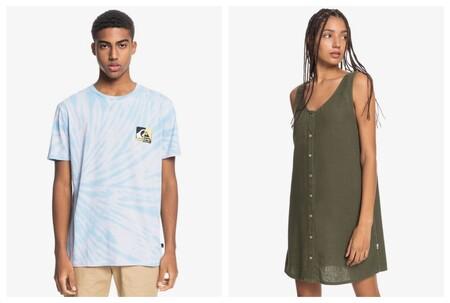 Consigue un 20% extra en Quiksilver al comprar tres artículos rebajados con este código descuento: camisetas, polos, sudaderas...