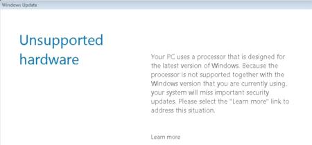 Ya hay forma de saltarse el bloqueo de actualizaciones en Windows 7 y 8.1 en PCs con procesadores nuevos