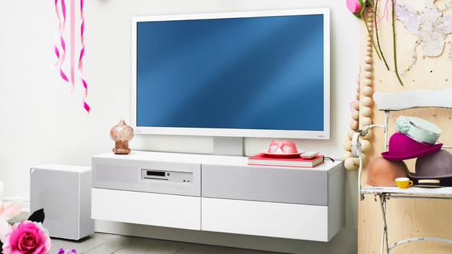 televisión ikea - blanca