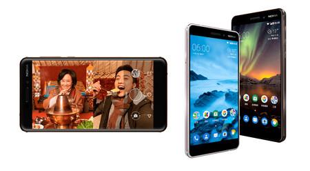 Nokia 6 (2018), una renovación sin sorpresas con más potencia y lector de huellas en la parte trasera