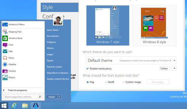 Start8 para Windows 8