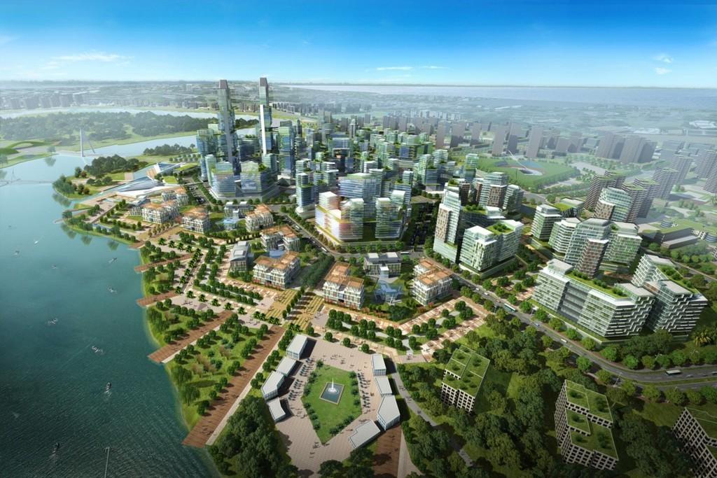 07 Urbanscape Aerial View