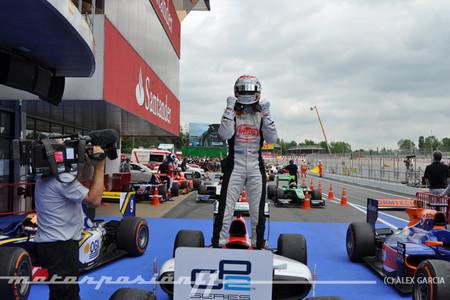 Stefano Coletti GP2 Barcelona 2013