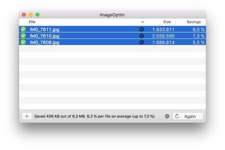 Imageoptim Exif Datos Mac