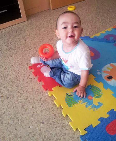 La foto de tu bebé: el simpático Marc jugando