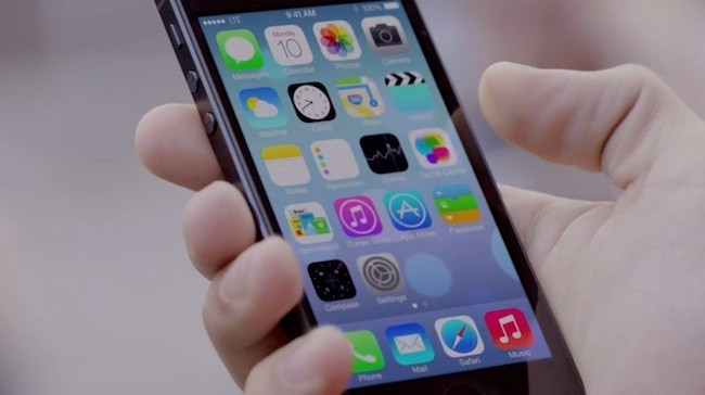 iOS7 iPhone 5 Video Demo