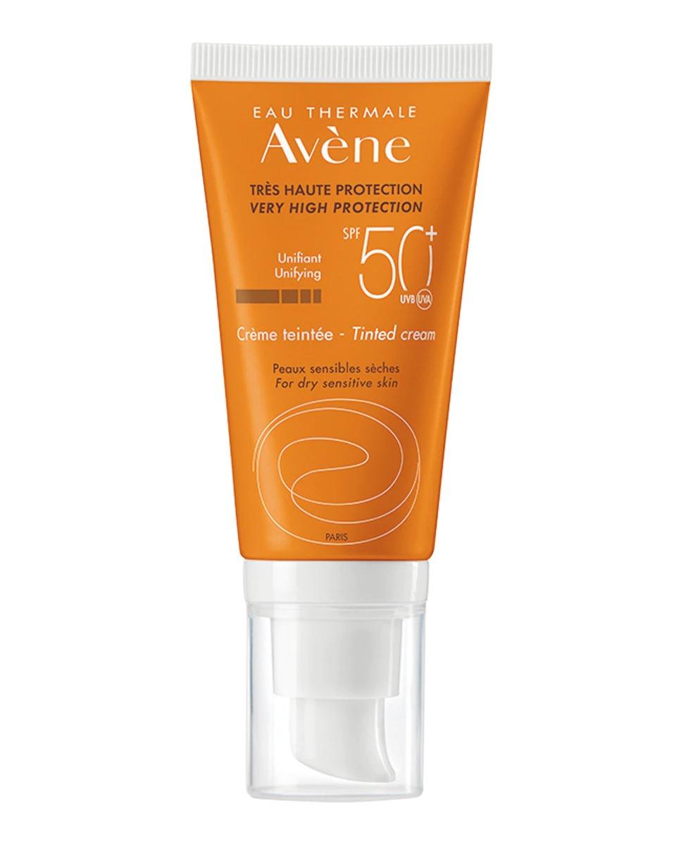Crema Protección Solar Spf 50+ Con Color 50 ml Avène