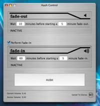 Hush: Programa el volumen del sonido en tu Mac