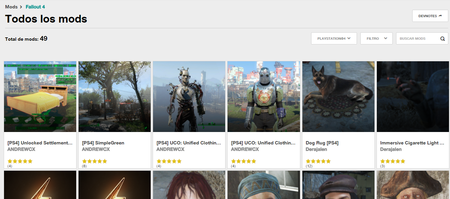Mods Fallout 4 Ps4