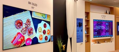 8K, OLED, microLED: toma de contacto con los más recientes avances en televisores del CES 2018