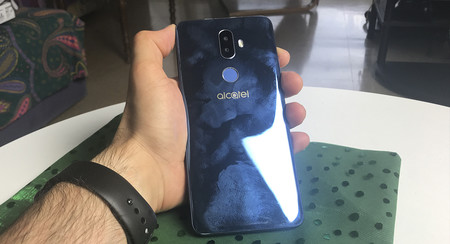 Huellas Alcatel 3v