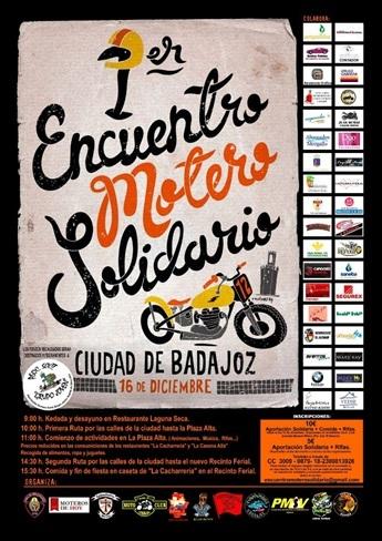 Motero Solidario Badajoz