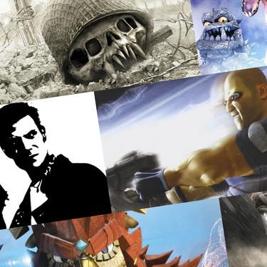 Estos fueron los juegos de lanzamiento en las anteriores generaciones de PlayStation y Xbox