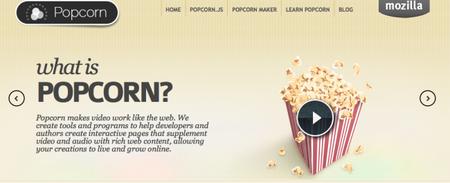 Mozilla Popcorn o como llevar el multimedia en la web al límite