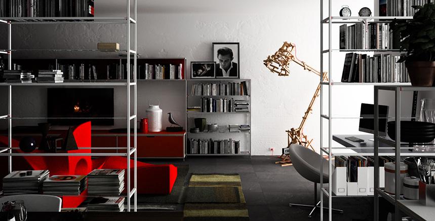 Foto de Meccanica, un sistema de almacenaje muy versátil y minimalista (21/21)