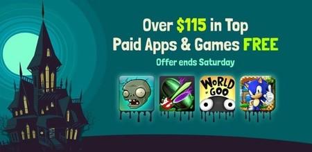 Amazon regala más de 115 dólares en aplicaciones y juegos por Halloween
