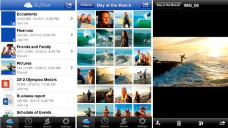 Skydrive ya tiene nueva versión para iOS