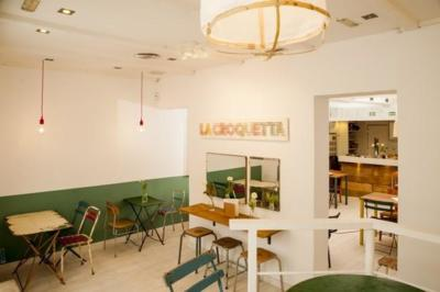 Ambiente alegre y colorista y una comida tan buena como la de tu madre en La Croquetta