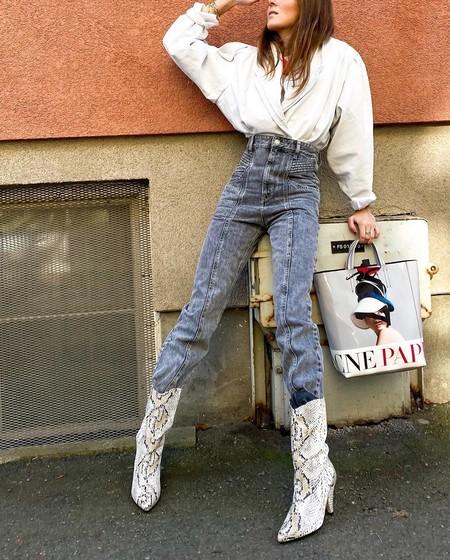 Cómo llevar botines con pantalones: diferentes propuestas vistas en el street style