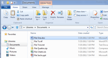 Microsoft enseña el explorador de archivos de Windows 8, con Ribbon