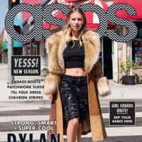 Dylan Penn continúa escalando puestos en la moda con su nueva portada en Asos Magazine