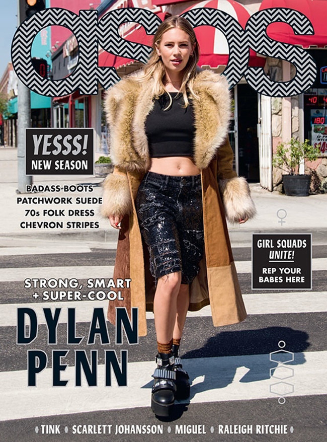 Dylan Penn Asos Revista Portada Septiembre 2015 1