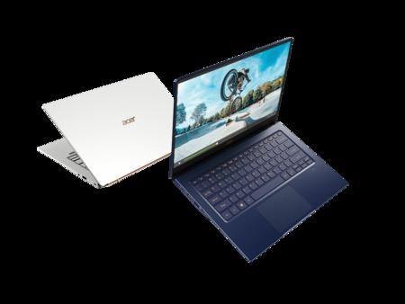 Acer pisa fuerte con el nuevo Swift 5: más autonomía y gráfica dedicada sin subir ni un gramo de peso (ni el precio)
