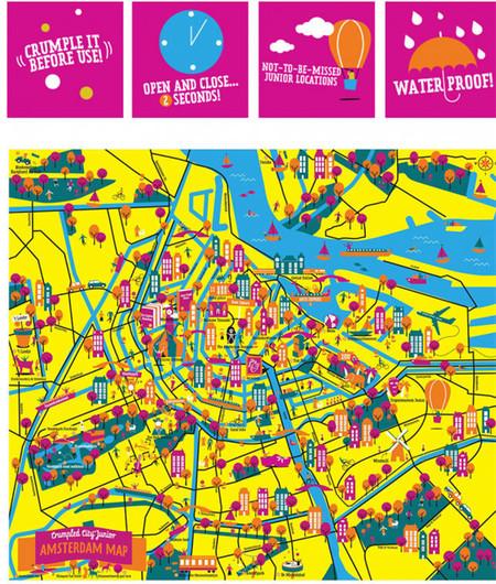 Crumpled City Junior para Amsterdam