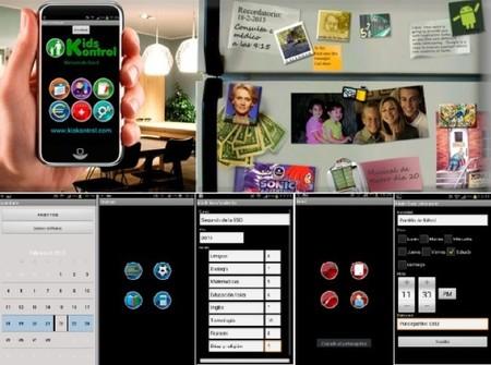 KidsKontrol es una agenda virtual para gestionar las tareas y actividades de los peques