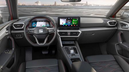SEAT León 2020 Prueba Contacto salpicadero