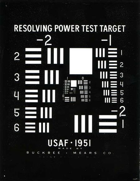 Test de resolución USAF