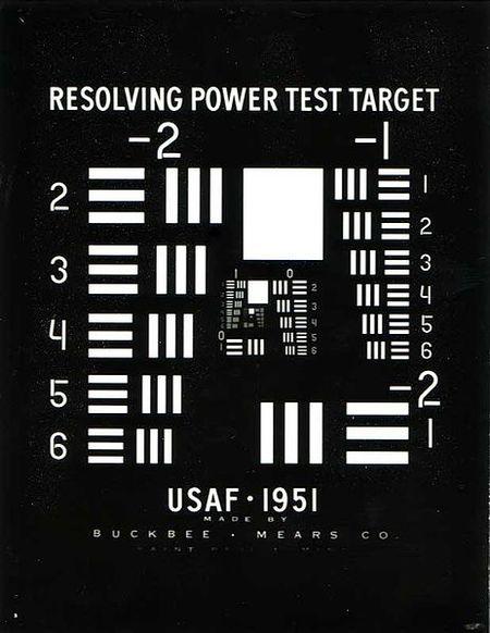 Test de resolución USAF