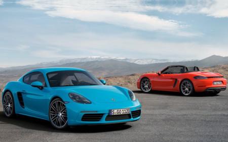 Los Porsche 718 Boxster y Cayman también tendrán variantes Spyder y GT4