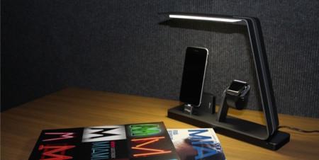 Esta elegante base de MiTagg para el Apple Watch y iPhone busca un hueco en nuestro salón