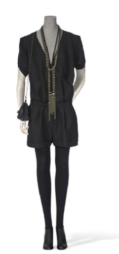 Vestidos de fiesta de Massimo Dutti, negro